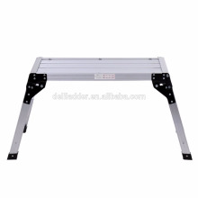 Aluminium-Plattform-Arbeitstisch-faltende Trittleiter EN131 u. CER 150Kg Hopfen oben