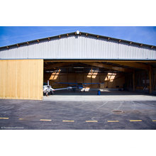 Light Roofing Prefab Shed Steel Structure Airplane Hangar