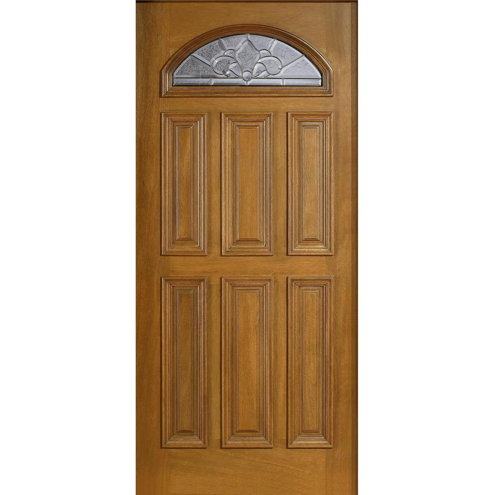 Solid Wood Speakeasy Front Door Slab