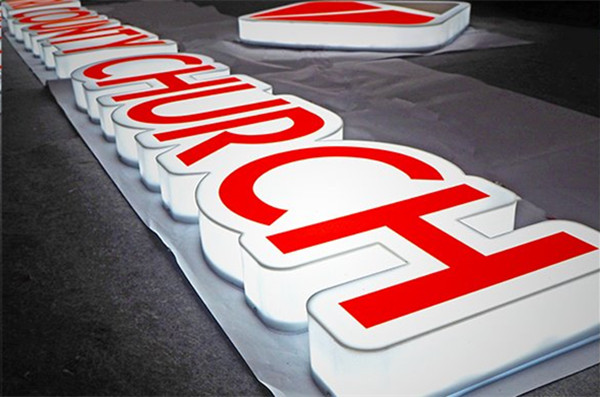 acrylic letter sign