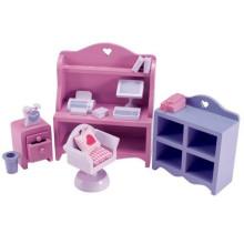 Sala de leitura Brinquedos Brinquedos de madeira Móveis