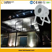 Projeto arquitetónico exterior da iluminação do fluxo do efeito da ondinha das ondas do diodo emissor de luz 50W