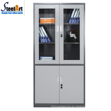 2018 mejor venta de alta calidad de oficina fueniture utilizado dos gabinete de archivo de la puerta