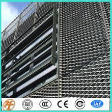 venda quente de alumínio resistente expandida fachada de construção de malha