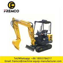 Mini Excavator for Engineering and Transportation