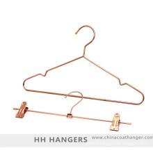 Costume de cintre métallique de fil d'or rose cuivre