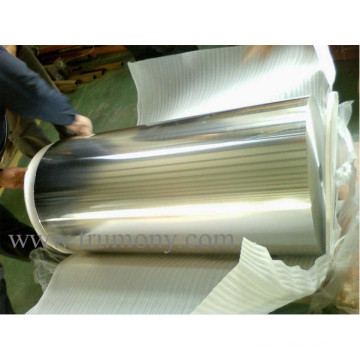 10mic X 300mm Aluminum Household Foil for Kitchen Shiny Side Impermeable