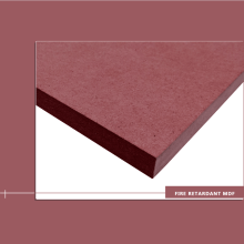 20 mm Wood Fiber Board Fire Retardant