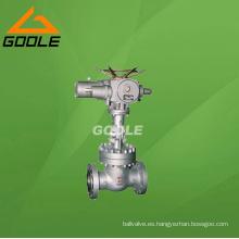 Válvula de compuerta de brida eléctrica ANSI / API (GAZ941H)