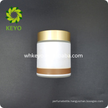 100g empty Glass Cosmetic Jar With Gold Cap