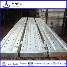 Fabriqué en Chine Plaque d'échafaudage / échafaudage à pied / planche d'échafaudage avec le meilleur prix et la vente chaude