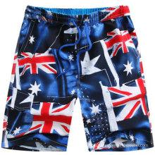 Homem / Crianças Boxer Shorts, Boy Beach Shorts, Calções de Praia Homem