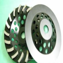 discos abrasivos del diamante del agente de vinculación del metal para el cemento