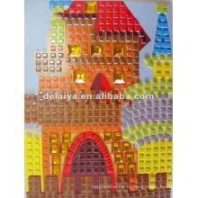 Дети DIY мозаика искусство наклейка для Дворца