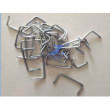 Uñas con forma de U de alambre de acero al carbono