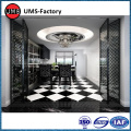 Faux marble mosaic kitchen wall tile