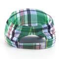Мода Проверить Pattern Военные шляпы
