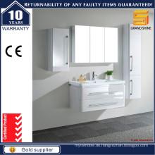 Neue Art und Weise MDF weiße Badezimmer-Eitelkeits-Möbel für Hotel