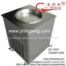Stainless Steel Pan Fried Ice Machine