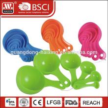 Wholesale adjustable plastic measuring spoon