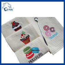 100% Baumwolle Garn Geschenk Tee Handtuch (QHG3332)