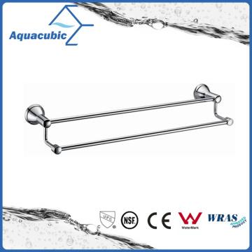 Wall Mount Chromed Zinc Double Towel Bar (AA6914B)