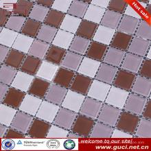 china fabricação piscina telha de vidro cristal mosaico preço