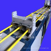 Línea de producción de varillas hidráulicas de pultrusión frp