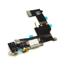 Brand New White USB Dock Connector and Headphone Audio Jack Flex Cable for iPhone 5s