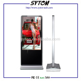 42'' Floor Standing wifi hd ad display ,stand alone totem,touch ad player