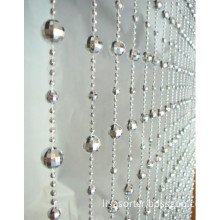 plastic bead curtain