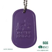 Изготовленный на заказ алюминиевый штампованный жетон собаки с тисненым логотипом