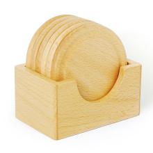 FQ marca lugar de diseño personalizado mesa de comedor de madera taza estera