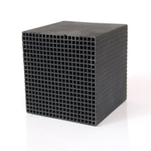Good quality square Honeycomb Cube Activated Carbon For Removal Of VOCs