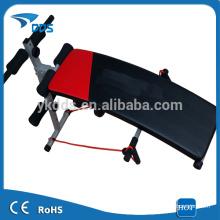 Ejercicio abdominal plegable banco de sentarse