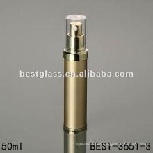 botella vacía de loción cosmética sin aire acrílico más noble botella con bomba