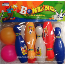 JML Cheapest Bowling Ball/Mini Plastic Bowling With 10 Pins For Sale for children