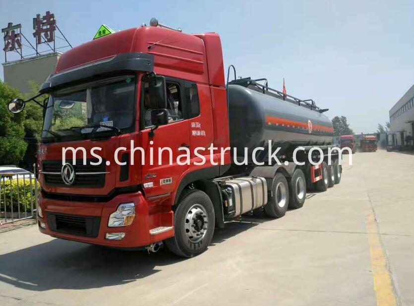 3 axle 30CBM Naoh tanker semi-trailer