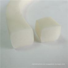 Extrusión de silicona Tiras de borde de silicona transparente