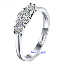 Hot Sell Jewelry- Cubic Zirconia Brass Rings (R0825)