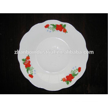 Africa style flower pattern ceramic plates