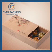 Recycled Good Grade Brown Kraft Cardboard Pastry Box (CMG-cake box-022)
