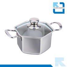High Quality 304 Stainless Steel Cooking Pot Soup Pot