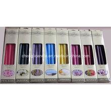 Farbe duftenden nicht tropf rauchfreien Haushalts dekorative Sticksäule Kerze