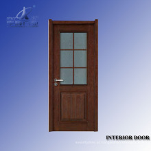 Folheado moderno da porta interior