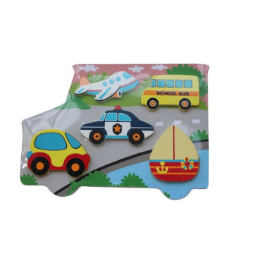 Educational Wooden Chunky Puzzle Wooden Toys