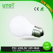 In stock Rohs approval 5W led bulb lamp