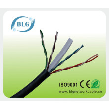 Câble de réseau extérieur UTP à basse tension Cat 6