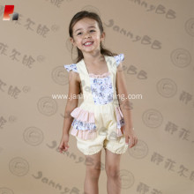kids bubble adjustable strap romper