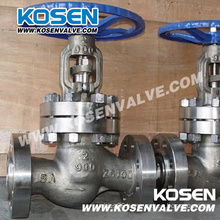 API 5A Flanged Bolted Bonnet Globe Valves